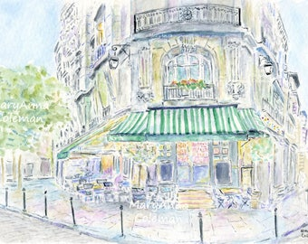 Paris Cafe - Chez Janou