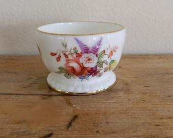 Vintage 1980's Hammersley Bone China Egg Cup Floral Pattern
