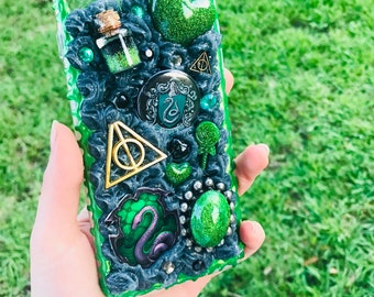 Slytherin Decoden Phone Case iPhone 7/8 Plus