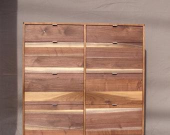 Sunset Dresser - Solid Walnut, contrasting grain pattern ON SALE