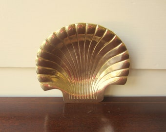 Exceptional brass shell for classic home decor.