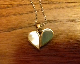 Herz-Form-Halskette