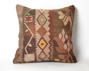 handwoven pillow, wool pillow, mexican tribal, home décor, cushion, aztec print, navajo pillows, rug pillow, pendleton pillow, kilim pillow