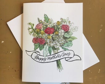 Mother's day card Mother's day Mom's day Mom's day gift Gift for mom Mother's day gift Blank card