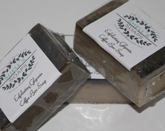 Exfoliating Coffee Glycerin Soap
