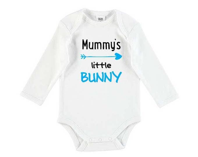 Mummy's Little Bunny Baby Bodysuit