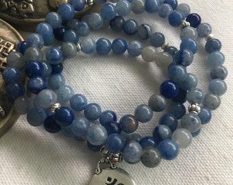 Beads, Bracelet, Necklace, Jewelry, Boho, Yoga Jewelry, Meditation, Spiritual, Gemstones, Simplicity, Healing, Mala, Handmade