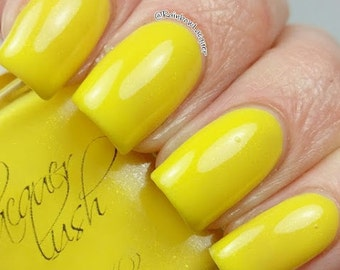 """shimmer nail lacquer: """"buttercup"""""""