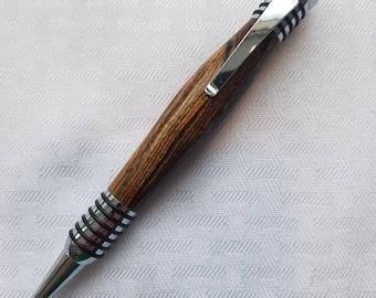 Bocote wood Spartan style pen