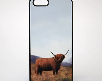 Highland Cow Phone Case (various models available)