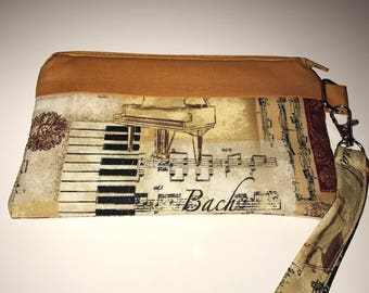 Music themed Wristlet