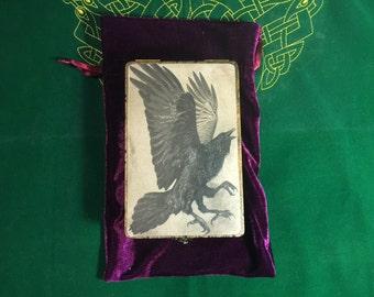 Raven tarot box