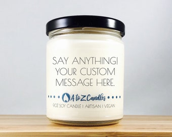 Fathers|Day|Gift PERSONALIZED|GIFT Fathers|Day|Personalized Custom Candle Personalized Candle Custom Wedding Gift Custom Bridesmaid Gift