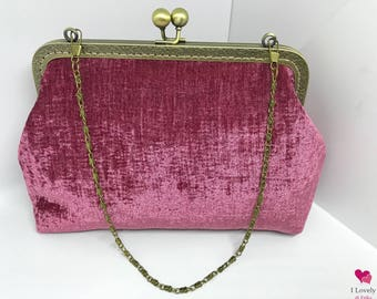 Antique Velvet Vintage Style handbag