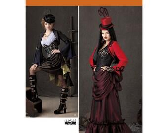 Cheapest Shipping Steampunk Costume Pattern. Simplicity 1819. Size:6-12 & 14-22. Dress, Top, Corset, Bustle Pattern. New. Uncut