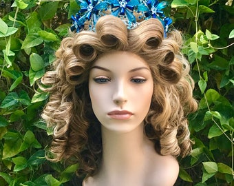 Glinda Wicked Wizard Oz Blonde Broadway Professional Wig