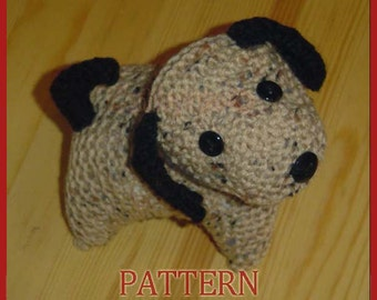 Adorable Puppies - INSTANT DOWNLOAD Knitting Pattern