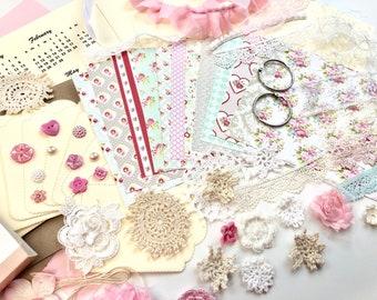 Shabby Chic Calendar/Calendar Kit #2/Desk Calendar