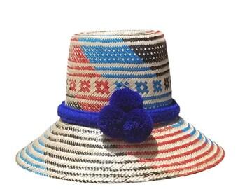 Wayuu pompom hat