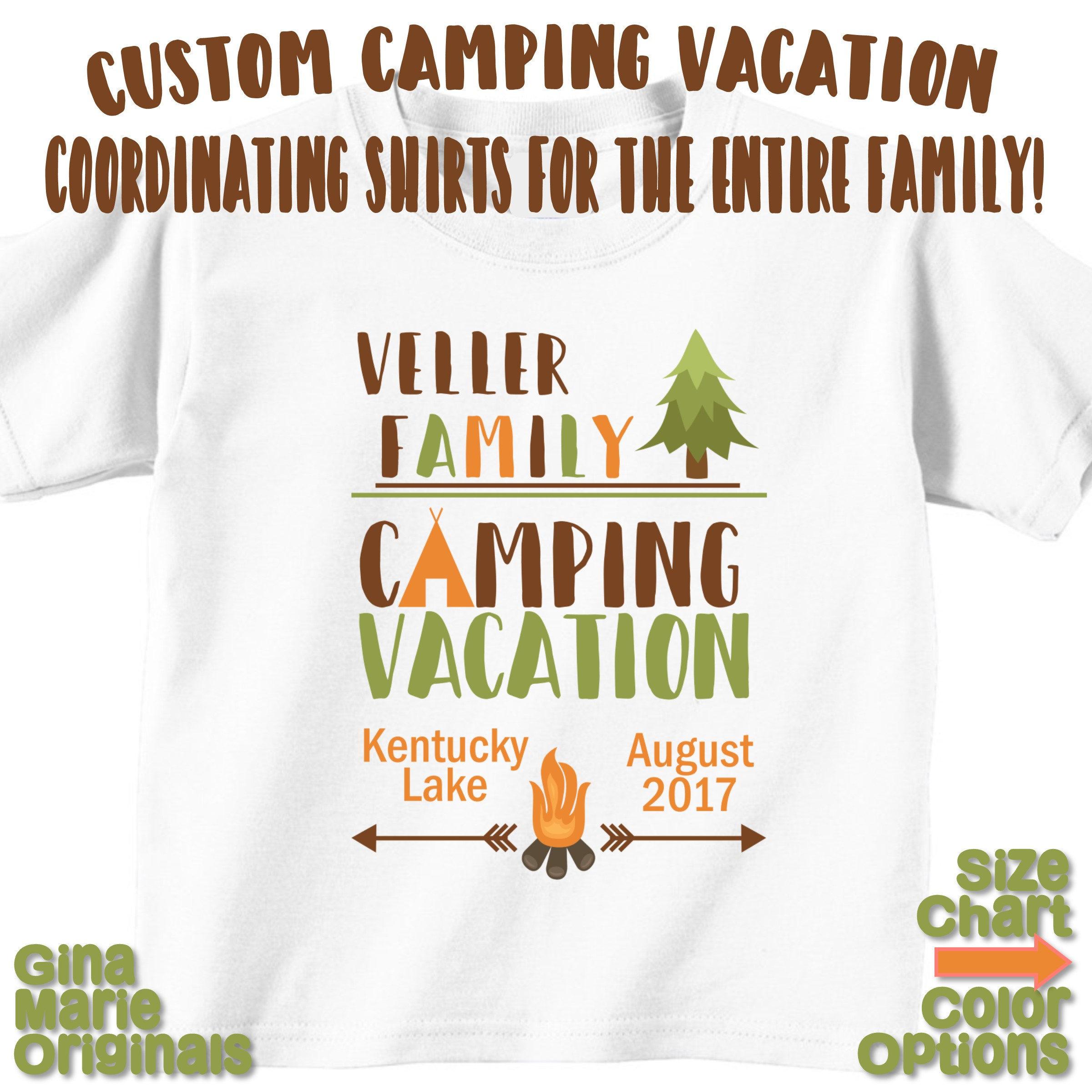 Etsy Custom Family Reunion Shirts