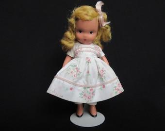 Nancy Ann Storybook Doll #110, Little Miss Sweet Miss , Bisque Nancy Ann Storybook Doll