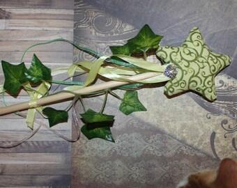 New - four season theme fabric fairy wand: spring