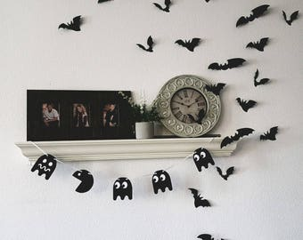 3D Wall Decor, Flying Bats Wall Decor, Halloween Party Decorations, Custom Wall Art, Gothic Wall Art, Halloween Decorations, Custom Party