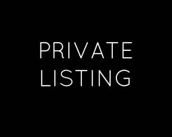 Private Listing for Chelsie