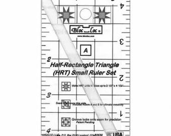 Bloc Loc - Half Rectangle Triangle Mini HRT 2 1 MN