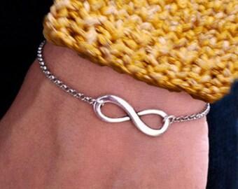 Gift Bohemia bracelet symbol infinity woman