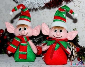 ELF felt christmas decor 14 cm ( 5,5 inches)