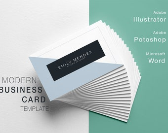 TV1-Modern Business card template