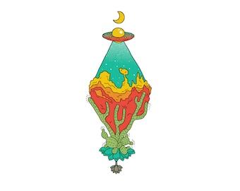 Primary Color UFO 1/3