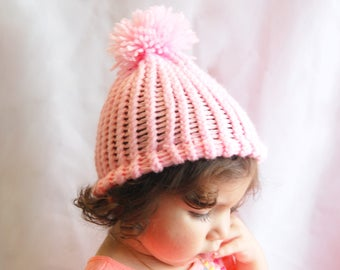 Toddler girl and women winter hat