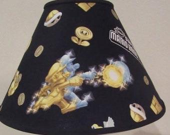 Super Mario Brothers Fabric Lamp Shade