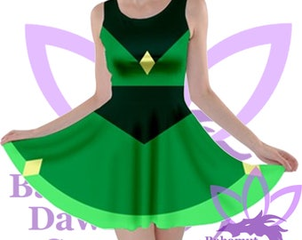 Peridot Dress  inspired