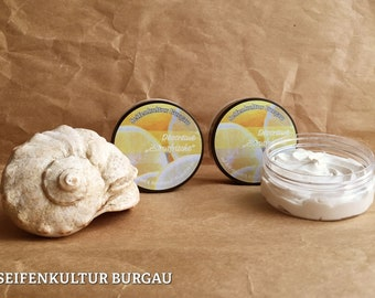 """Deocreme """"Zitrusfrische""""-with coconut oil KBA + Kirschkernöl-without aluminium salts"""