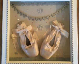 First Pointe Shoes Keepsake Frame