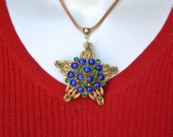Har Repurposed Brooch Necklace