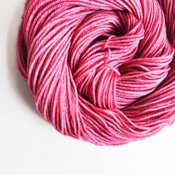 ROUGE hand dyed yarn