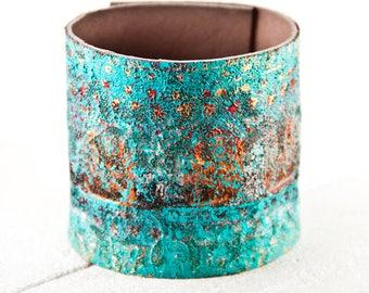 Coral & Turquoise Bracelet, Turquoise Cuff, Turquoise Jewelry, Turquoise Wristband, Southwest