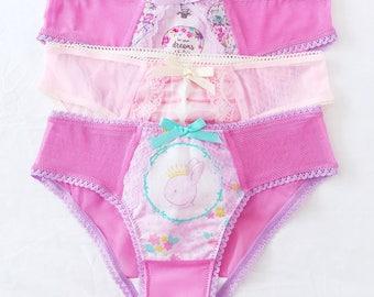 3-Gift set of 3 undies, panties kawaii ddlg
