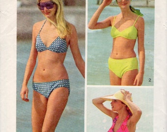 vintage Simplicity 5576 sewing pattern // The Every-Body Bikini