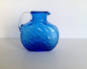 Blue Pitcher / Vase