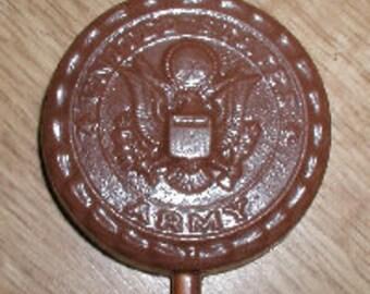 U.S. Army Lolly Chocolate Mold