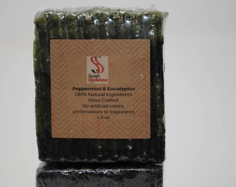Peppermint & Eucalyptus Body Bar