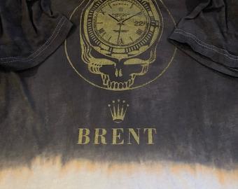 Velvet Charcoal Burn Brent Rollie