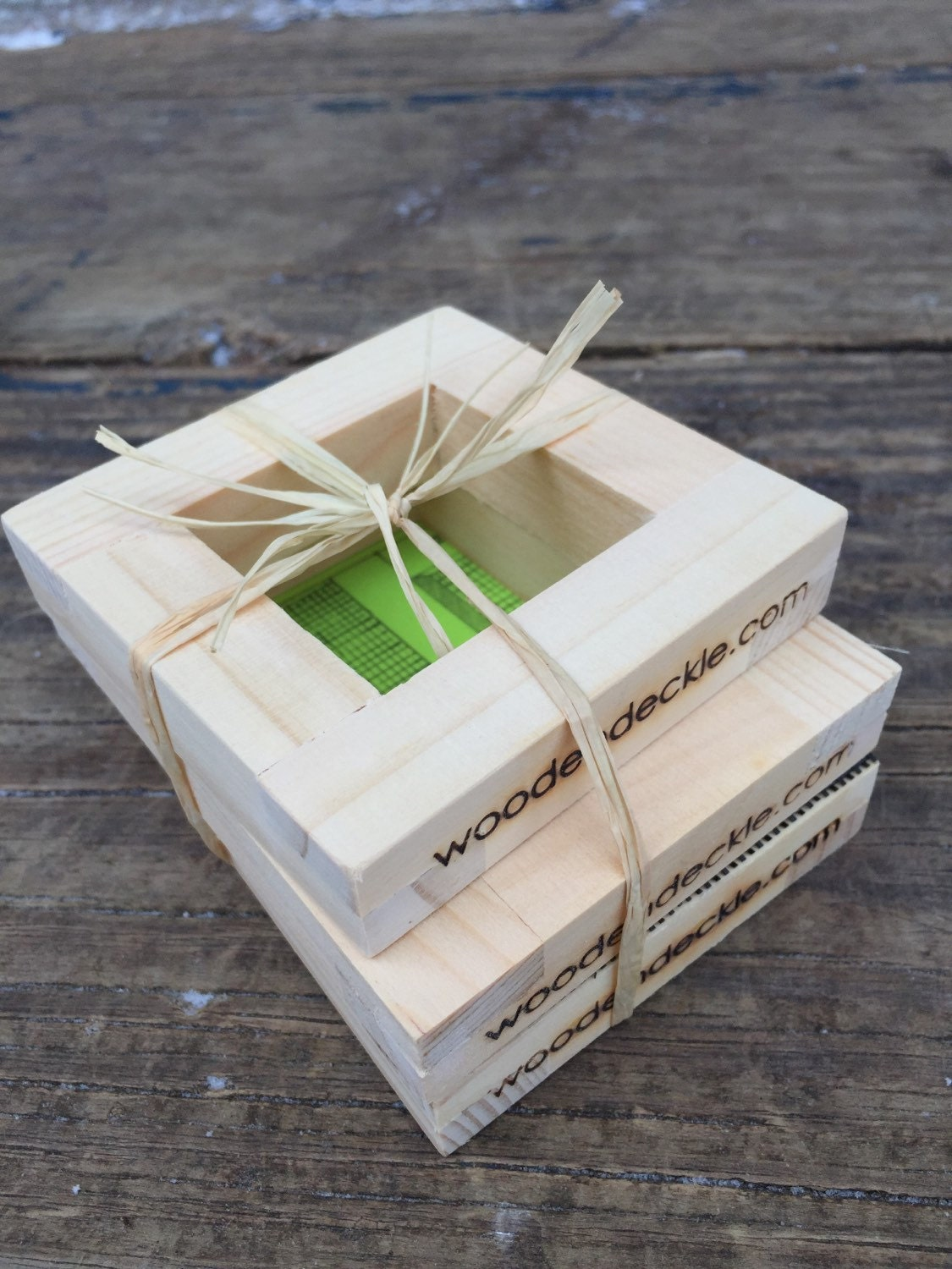 DIY Business Card and Gift Tag Mold and Deckle Set for Paper Making ...