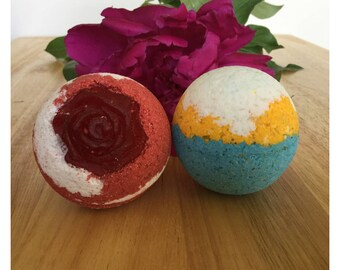 Beauty and the Beast Inspired Bath Bomb Set