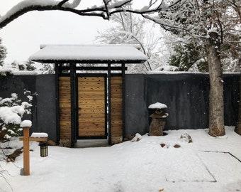 Serene Snowscape Photo